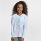 Nike Big Kids' (Girls') Long-Sleeve T-Shirt Sportswear