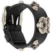 Gucci wolf stud bracelet