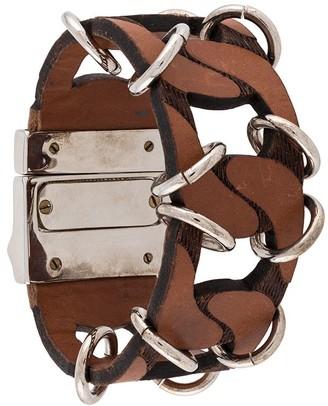 Gianfranco Ferré Pre Owned 2000s Archive Oversized Bracelet