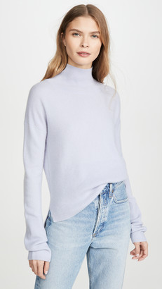 Naadam High Low Turtleneck Cashmere Pullover