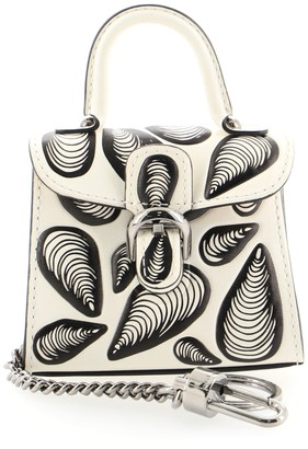 Delvaux Brillant Charm Printed Leather