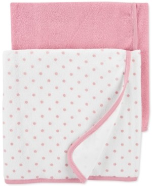 Carter's Baby Girls 2-Pk. Terry Cloth Towels