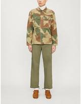 Ralph Lauren RRL Herrington camouflage-print cotton-canvas shirt