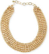 Sequin Golden Chain Choker Necklace
