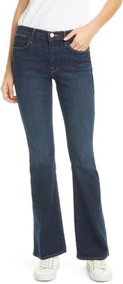 Frame Le Pixie High Waist Flare Jeans