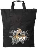 Y-3 Cobra-embroidery Nylon Tote Bag