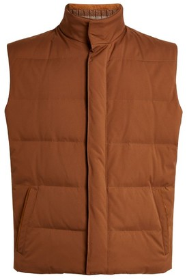 Kiton Quilted Down Gilet