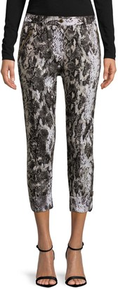 Tommy Bahama Printed Linen Capri Pants