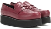 Bottega Veneta Platform Leather Loafers
