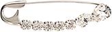 Sonia Rykiel Crystal-embellished safety-pin brooch