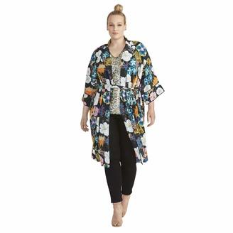 Rachel Roy Women's Plus Size Glenna SS Kimono Jacket