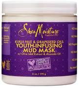 Shea Moisture SheaMoisture® Kukui Nut & Grapeseed Oil Youth-Infusing Mud Mask - Olive leaf Extract & Avocado Oil - 6oz