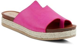 Spring Step Patrizia by Slip-On Toe-Loop Sandals - Toeloop