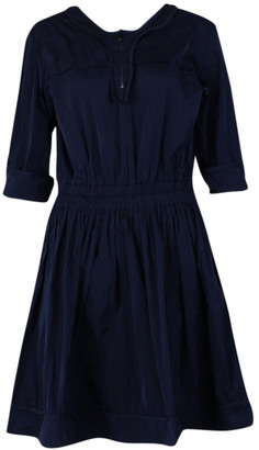 Mulberry Navy Polyester Dresses