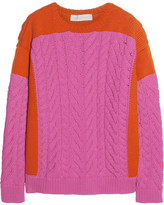 Stella McCartney Chunky cable-knit cotton-blend sweater