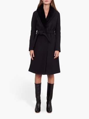Gerard Darel Paxton Belted Wool Coat