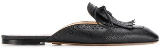 Thom Browne Bow Detail Flat Mules