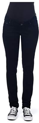 Noppies Women's's Pants OTB Slim Meg 2 Maternity Trousers Schwarz (Black C270)