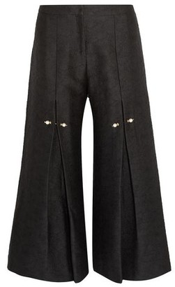 Mother of Pearl 3/4-length trousers