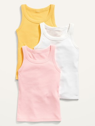 Old Navy 3-Pack Rib-Knit Tank Top for Girls