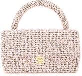 Chanel Pre Owned 1991-1994 CC tweed tote bag