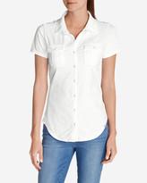 Eddie Bauer Women's Ravenna Short-Sleeve Button-Front Shirt