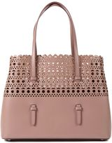 Alaia Perforated Detail Tote