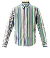 Gant India Madras stripe shirt
