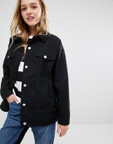 Monki Boxy Denim Jacket