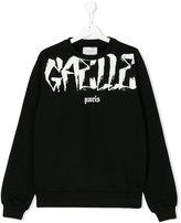 Gaelle Paris Kids Teen printed sweatshirt