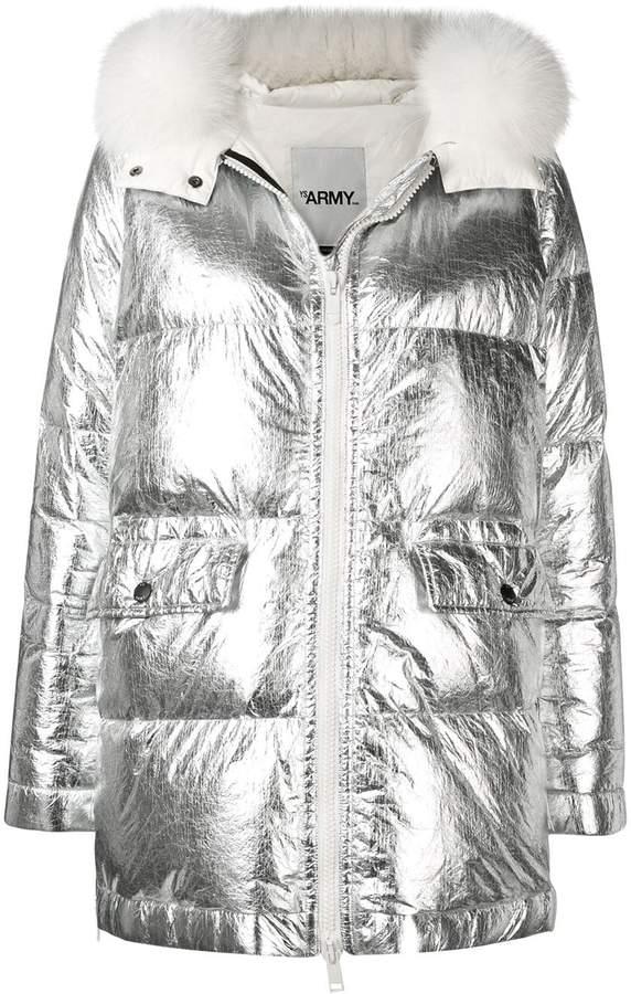 11d230858 Army oversized parka coat