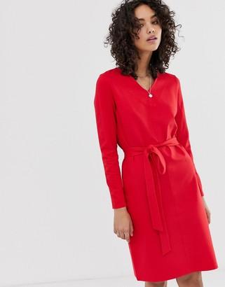 Finery Elm belted dress