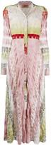 Missoni knit shirt dress