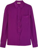 Emilio Pucci Silk-satin shirt
