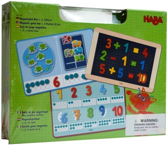 Haba Magnetic 1, 2 Number Math Game Box