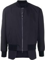 Neil Barrett Hybrid bomber jacket