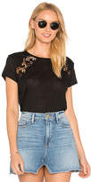Generation Love Lion Lace Tee in Black. - size M (also in S,XS)