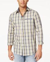 Sean John Men's Cotton Plaid Shirt