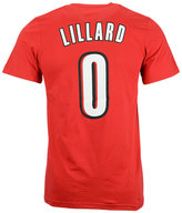 adidas Men's Short-Sleeve Damian Lillard Portland Trail Blazers Player T-Shirt