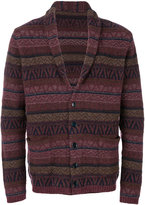 Lardini patterned cardigan
