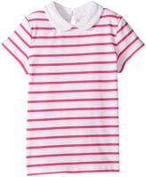 Kate Spade New York Kids - Jess Stripe Collar Top Girl's Clothing