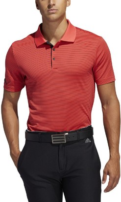adidas Men's Climalite Striped Performance Polo