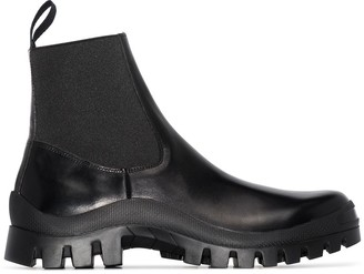 ATP ATELIER Catania leather ankle boots