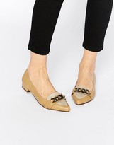 Ravel Chain Point Flat Shoes