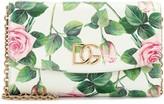 Dolce & Gabbana Mini floral leather shoulder bag