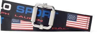 Ralph Lauren Pull-Through Polo Sport Belt