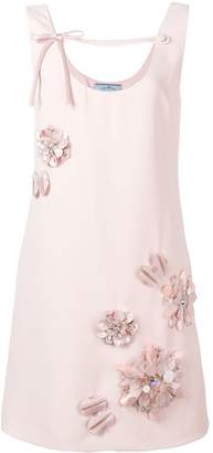 Prada floral mini dress