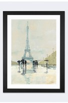 iCanvas 'April In Paris' Framed Fine Art Print