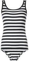 OSKLEN striped ribbed bodysuit - women - Cotton/Spandex/Elastane - P
