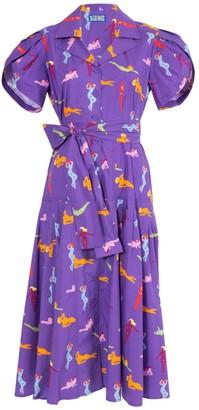 Lhd Glades Dress Beach Babes Purple
